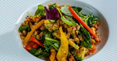 Recipe of the Day: How to Make a Nutritious Grain and Spinach Salad