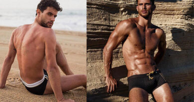 Men's swimwear: how to find swimming trunks, shoes and related accessories