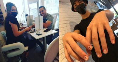 The secrets of male manicure